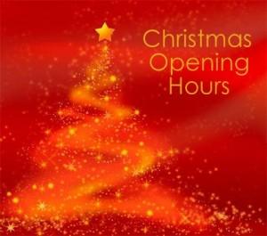 christmas hours template