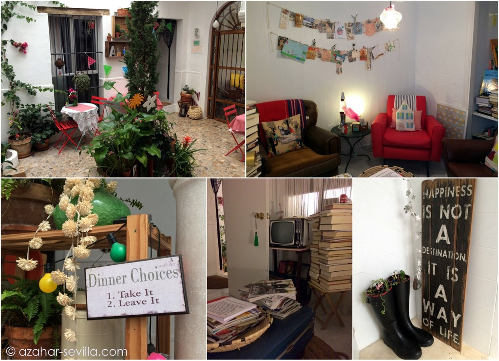 casa huespedes common spaces