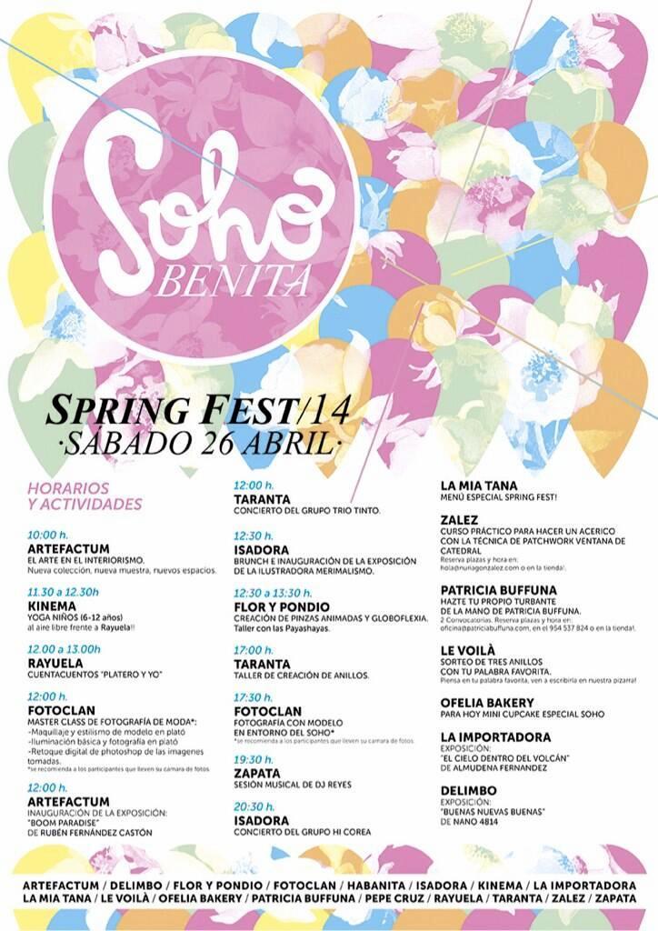 spring festival soho benita