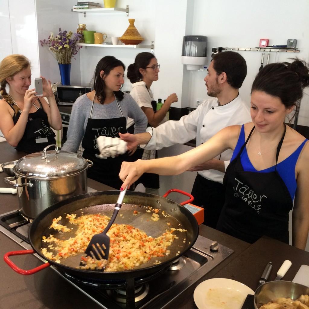 Taller andaluz de cocina cooking classes in sevilla for Taller andaluz de cocina