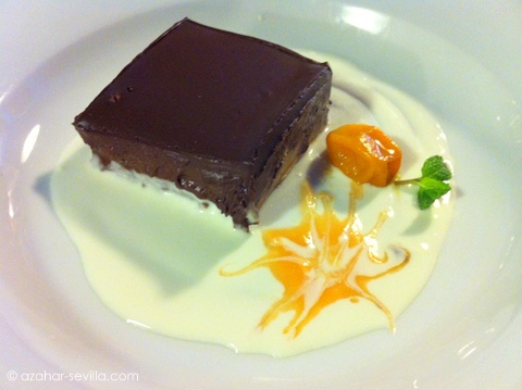 eslava choc orange mousse