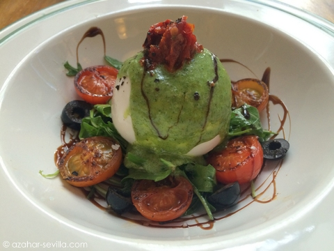 brunilda burrata salad