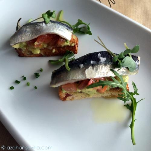 voraz sardinas