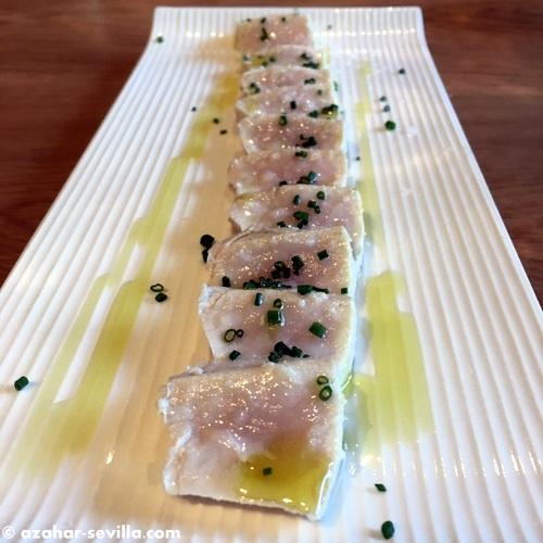 luz de mar swordfish tataki