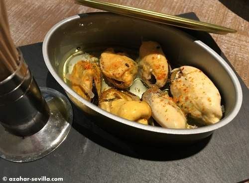 sea market mussels