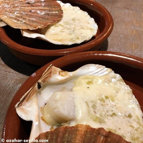 sea market scallops